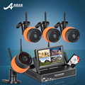 Подключи И Играй Беспроводной NVR Комплект 7 Дюймов ЖК-Экран 1 ТБ HDD 720 P HD WI-FI Ip-камера Открытый ИК Пуля Камеры Безопасности Системы ВИДЕОНАБЛЮДЕНИЯ