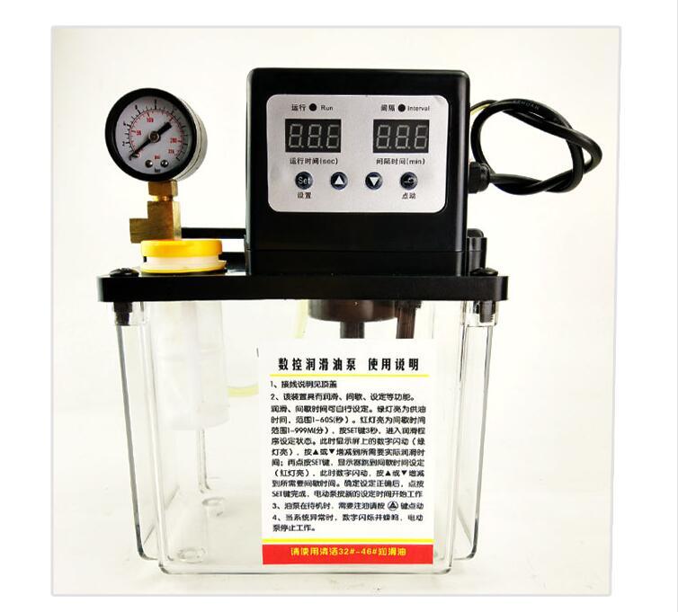 Sanitär Begeistert 2l/220 V Elektrische Auto Schmierung ölpumpe/Öler/Öler Für Zentralschmieranlage/cnc-maschine Einfach Zu Verwenden
