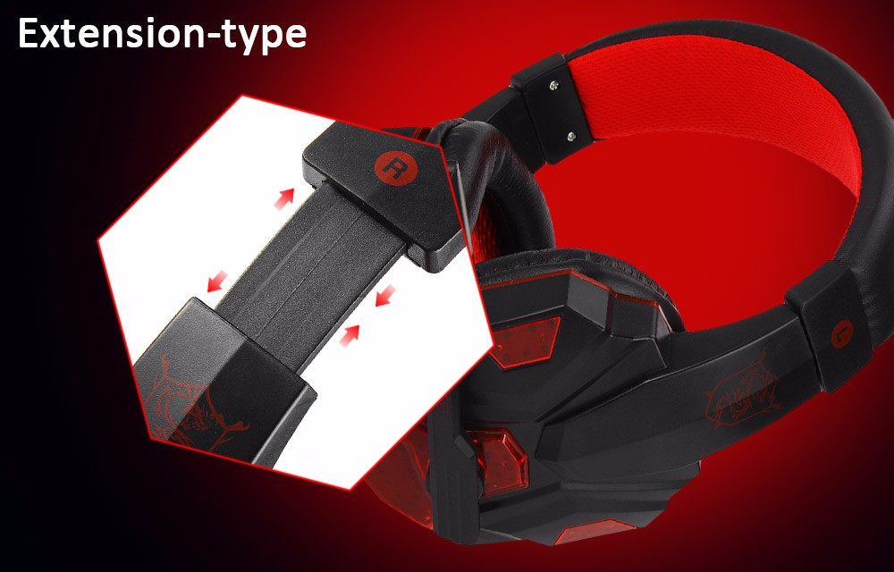 Plextone PC780 Gaming Headset with Mic 5
