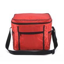 حقيبة تبريد محمولة لحفظ الأغذية تخزين نزهة الحرارية العزل حقائب السفر النايلون النساء الغداء أكياس