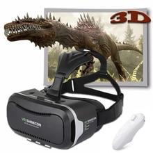 VR Shinecon Virtual Reality 3D Movie Smartphone Game 3D Glasses Helmet 3 D VR Cardboard 4.7-6 Smart Phone+ Bluetooth Controller
