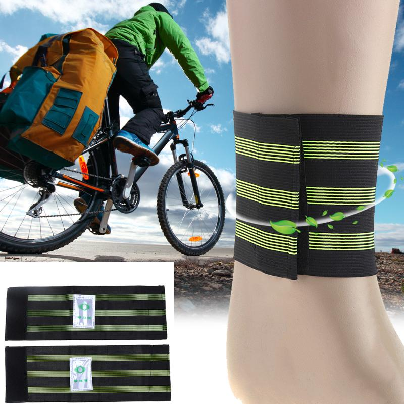 Bike Reflective Ankle Leg Bind Trousers Pant Band Clips Strap Perfect Elastic