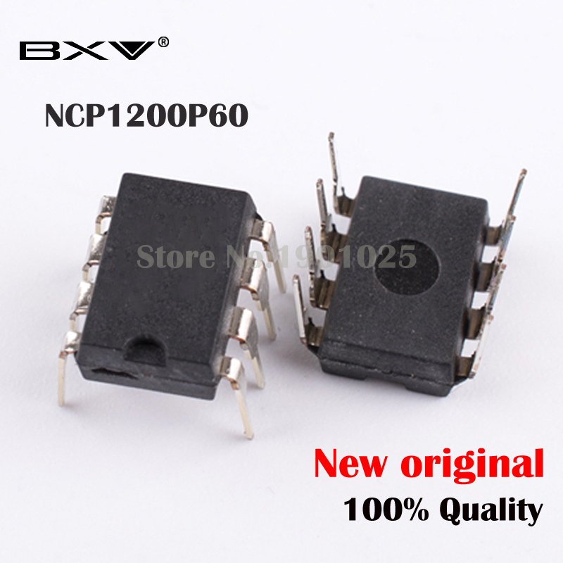 10pcs NCP1200P60 1200P60 NCP1200 DIP-8 New Original In Stock