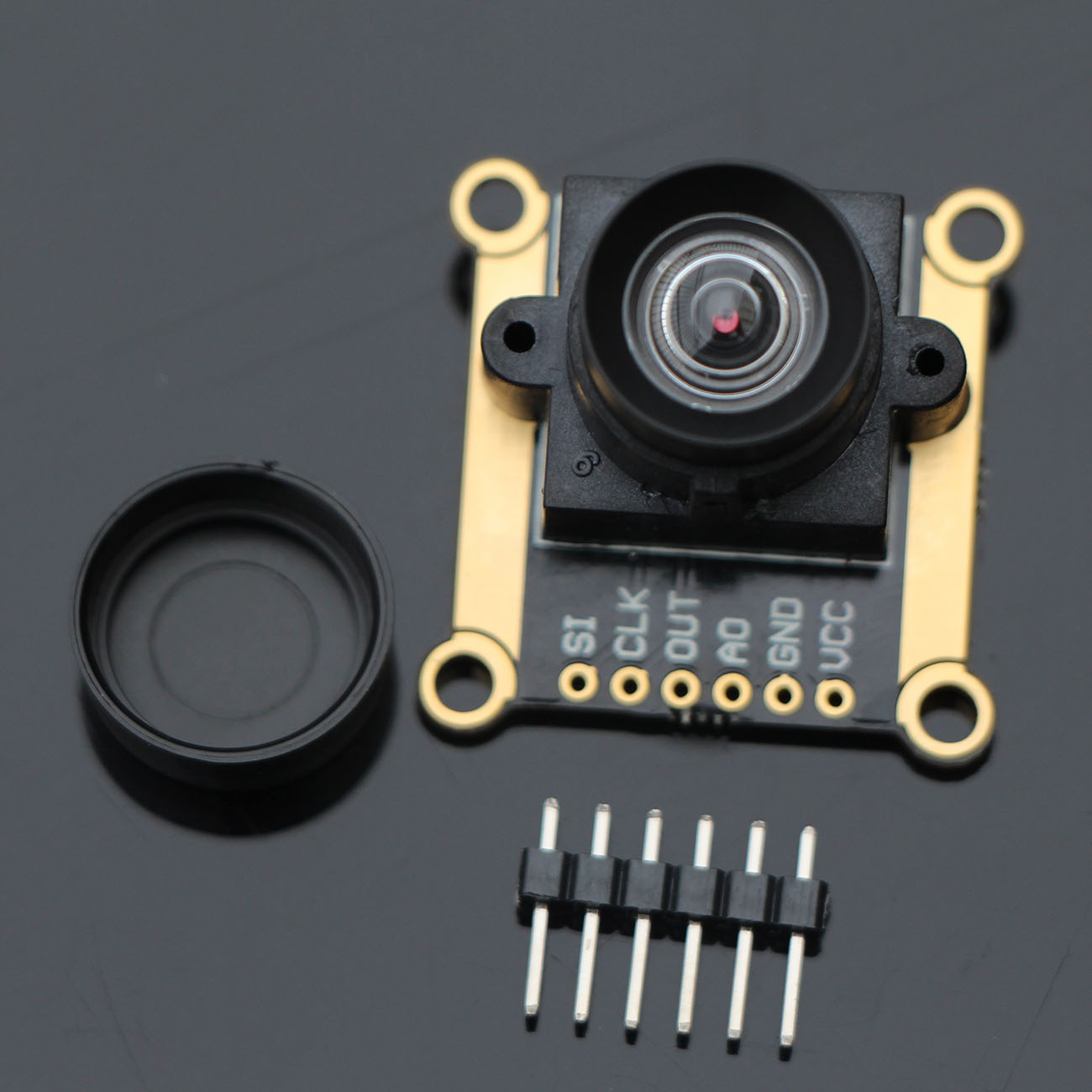 New 3V-5V TSL1401CL 128X1 Linear CCD Sensor Comes With Array With Hold Ultra Wide-Angle Lens Tracking Module