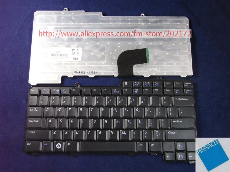 Used Look Like New Black Laptop  Notebook Keyboard 0PF236 NSK-D5K01 9J.N6782.K01  For  Dell Latitude D520 D530 (US) us black new english replace laptop keyboard for dell latitude z600