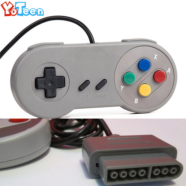 2Pcs Wired Retro Classic for SNES Video Game Console Gamepad Super for Nintendo SNES Controller Pads Super NES Game Controller