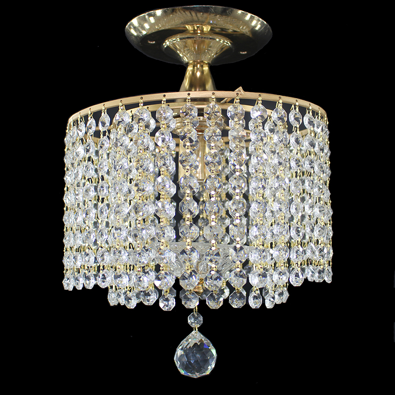 Modern retro plated crystal lustre Ceiling Lights E27 Plafonnier LED ceiling Lamp Luminaire For Living Room bedroom hotel hallModern retro plated crystal lustre Ceiling Lights E27 Plafonnier LED ceiling Lamp Luminaire For Living Room bedroom hotel hall