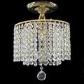 Moderne retro überzogene kristall glanz Decke Lichter E27 Plafonnier LED decke Lampe Leuchte Für Wohnzimmer schlafzimmer hotel halle-in Deckenleuchten aus Licht & Beleuchtung bei