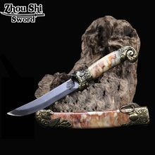 classic Knife Chinese Characteristics Dragon Knife unique Tsuba Stainless steel Blade  Home Decorations    knife gift