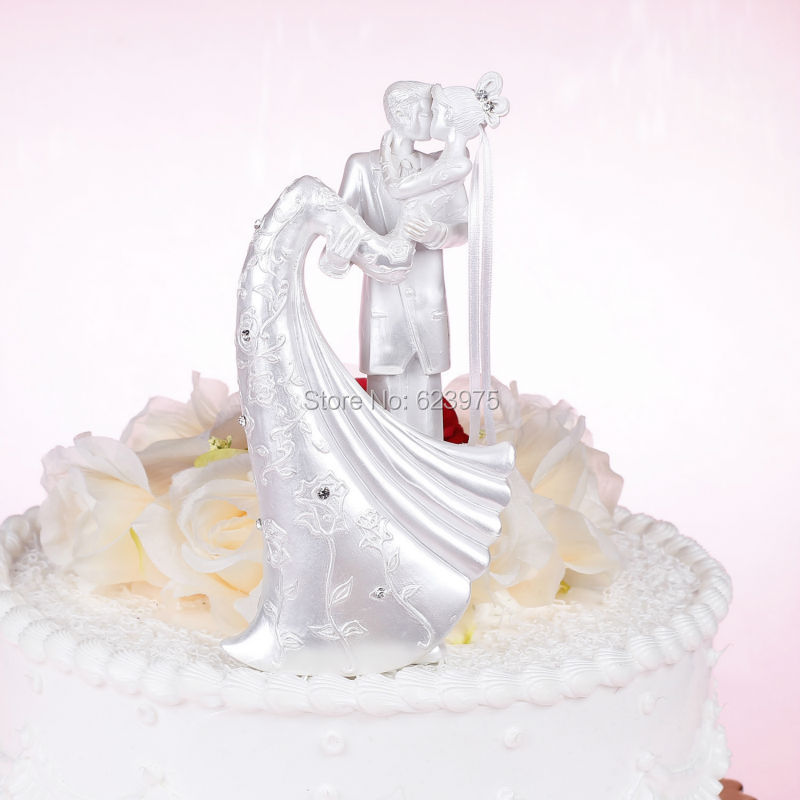 Pearl White Wedding Cake Toppers Romantic In USA China Decorating Supplies From Home Garden On Aliexpress