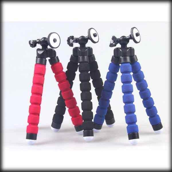 Bởi Công Ty DHL Hay EMS 200 Miếng GoPro Mini Dẻo Chân Máy Ảnh Bạch Tuộc Bong Bóng 3 Chân Cho SJ4000 Camera Đi Pro hero3 + 3 4