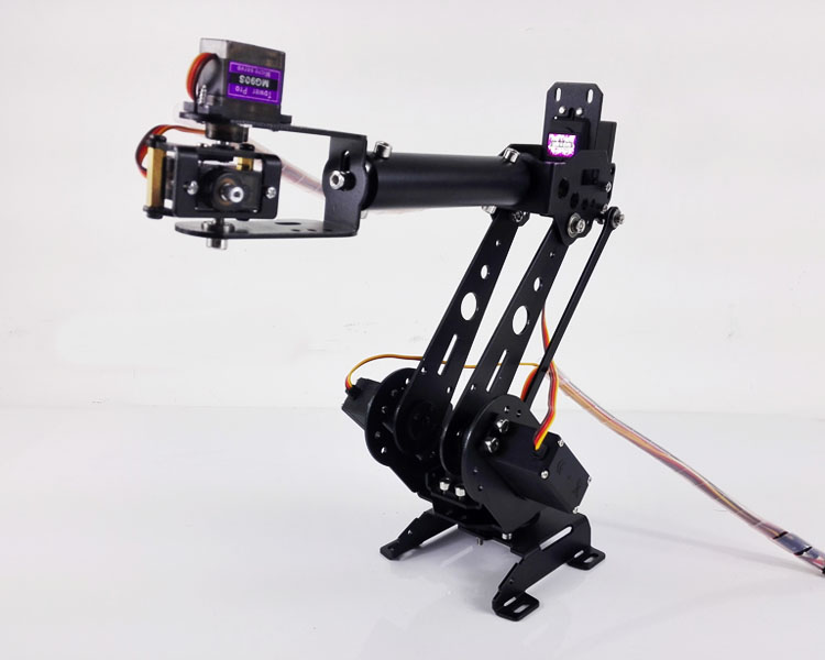 DOIT DoArm S6 6DoF Robot Arm ABB Model Manipulator with 4pcs MG996R+2pcs*MG90S Servos for DIY Robot Project цена