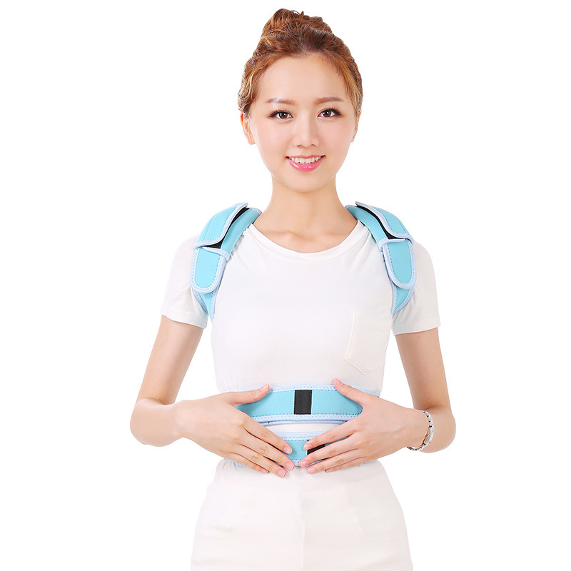 Universal Adjustable Double Aluminium Alloy Posture Corrector Back Shoulder Support Therapy Curve Hump Correction Body Care T253