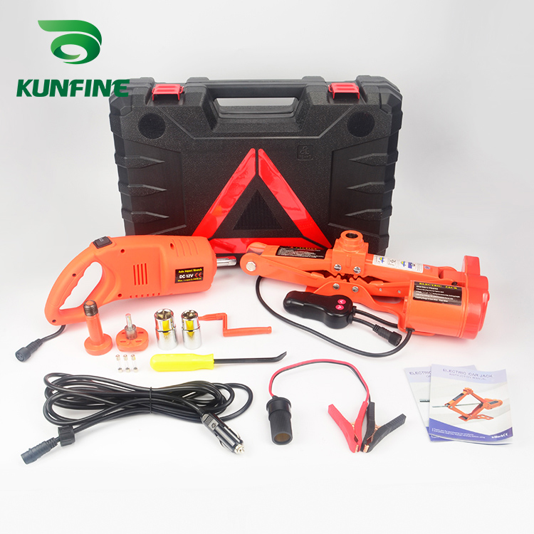 Portable 12V 13A Max.current Car Jack 3Ton Electric Jack Auto Lift Scissor Jack Lifting Machinisms Lift Jack Muti Function