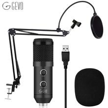 Конденсаторный микрофон, 192 кГц/24 бит, USB