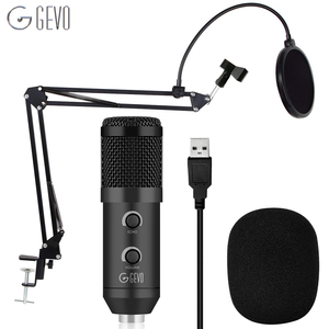 Image 1 - Usbli mikrofon 192KHZ/24BIT kondenser mikrofon seti Podcast mikrofon bilgisayar stüdyosu mikrofon ile profesyonel ses yonga seti