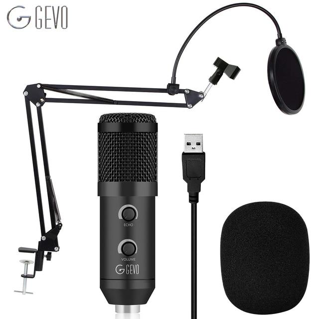 Usbli mikrofon 192KHZ/24BIT kondenser mikrofon seti Podcast mikrofon bilgisayar stüdyosu mikrofon ile profesyonel ses yonga seti