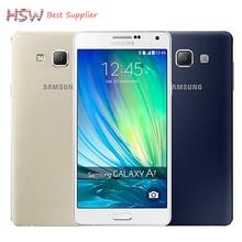 "100% Оригинал Samsung Galaxy A7 A7000 4 Г LTE Мобильный телефон Octa-core 1080 P 5.5 ""13.0MP 2 Г RAM 16 Г ROM Dual SIM смартфон"