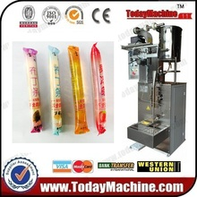 5-300ml Liquid ice lolly packing machine , High effeicieny Automatic liquid ice pop /jelly stick filling liquid ice lolly sealing packaging machinery fruit juice jelly stick bar sachet filling packing