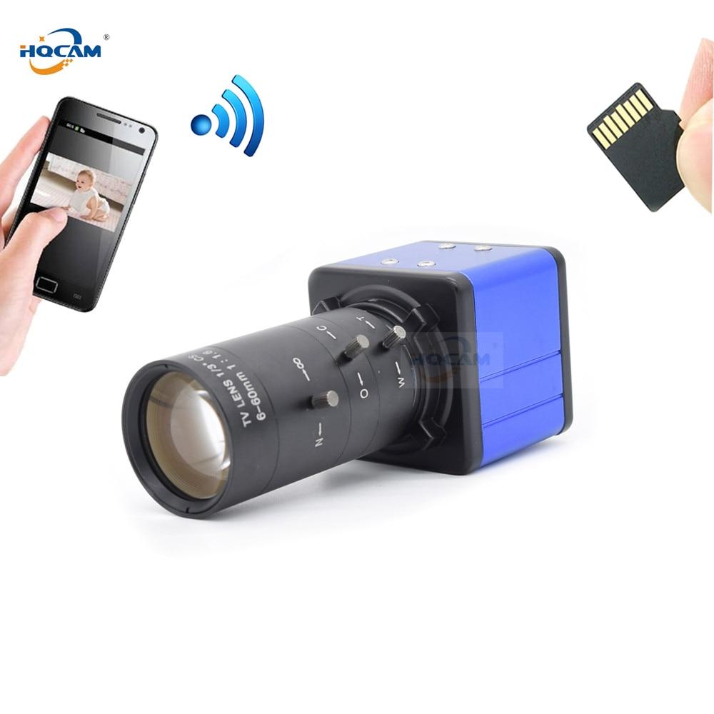 HQCAM CamHi 2MP 5MP IMX335 2560x1920 Audio Mini WIFI BOX caméra IP Surveillance intérieure sans fil sécurité à domicile Onvif CCTV TF carte