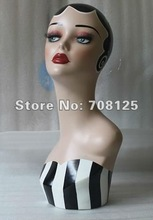 Vintage Earring Mannequin Head For Jewelry