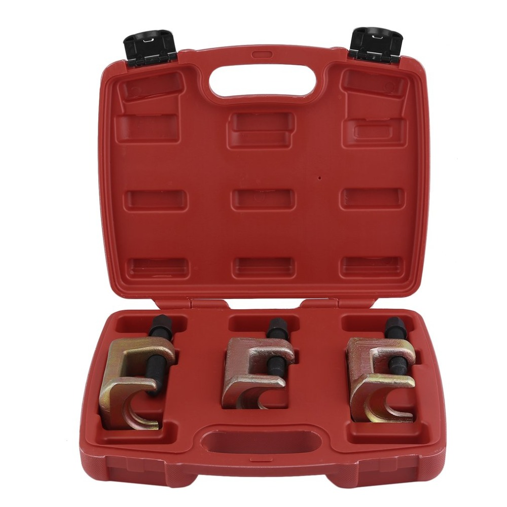 (Ship From DE)3PCS Ball Joint Puller Set Durable Ball Joint Extractor Universal Ball Head Puller Professional Tie Rod Tool Set moog k9153 lower ball joint