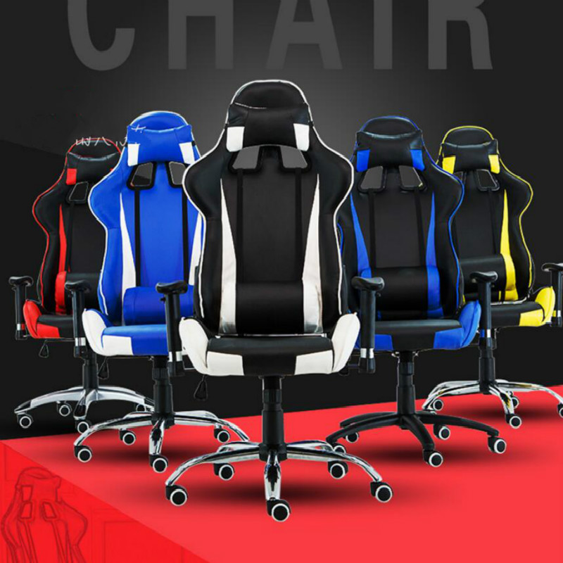 Ergonomic Reclining Gaming Computer Chair Swivel Lying Lifting Adjustable Colorful Bureaustoel Ergonomisch Sedie Ufficio Cadeira