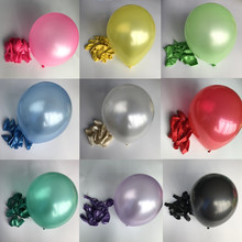 10pcs/lot 10inch 1.5g Pearl Latex Balloons Wedding Decoration Birthday Party Inflatable Globos Air Event Decors