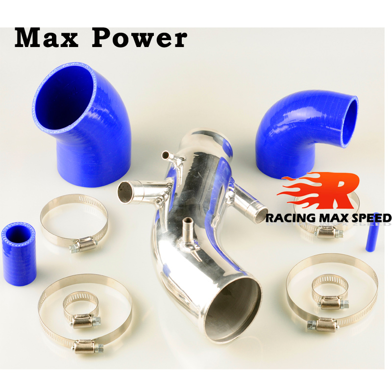 Hotsales pipe manufacturers silicone hose car air filter intake pipe,cold air intake for TT 1.8T mit 225PS air intake hose sensor air intake temp