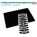 10pcs/lot PS4 controller LED decal light bar cover sticker for Sony Play station dualshock 4 joystick gamepad