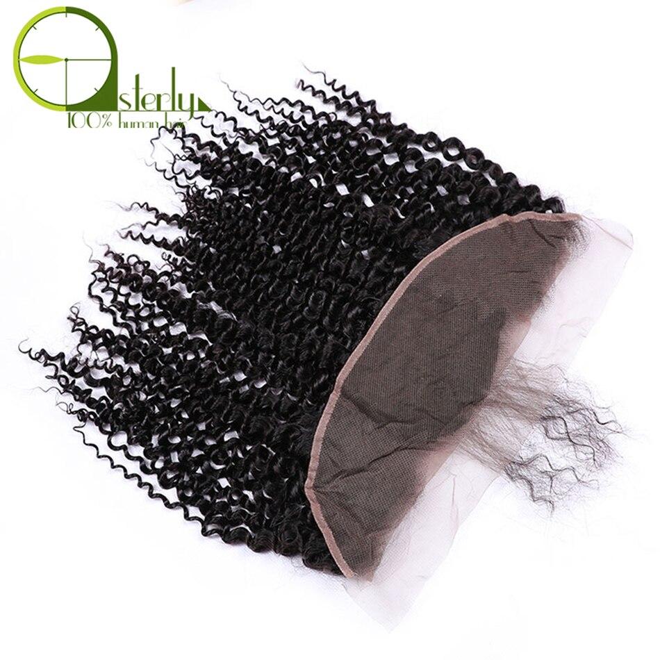 HTB1M4VKov1TBuNjy0Fjq6yjyXXaQ Sterly Kinky Curly Bundles With Frontal Remy Human Hair Bundles With Closure Brazilian Hair Weave Bundles With Closure