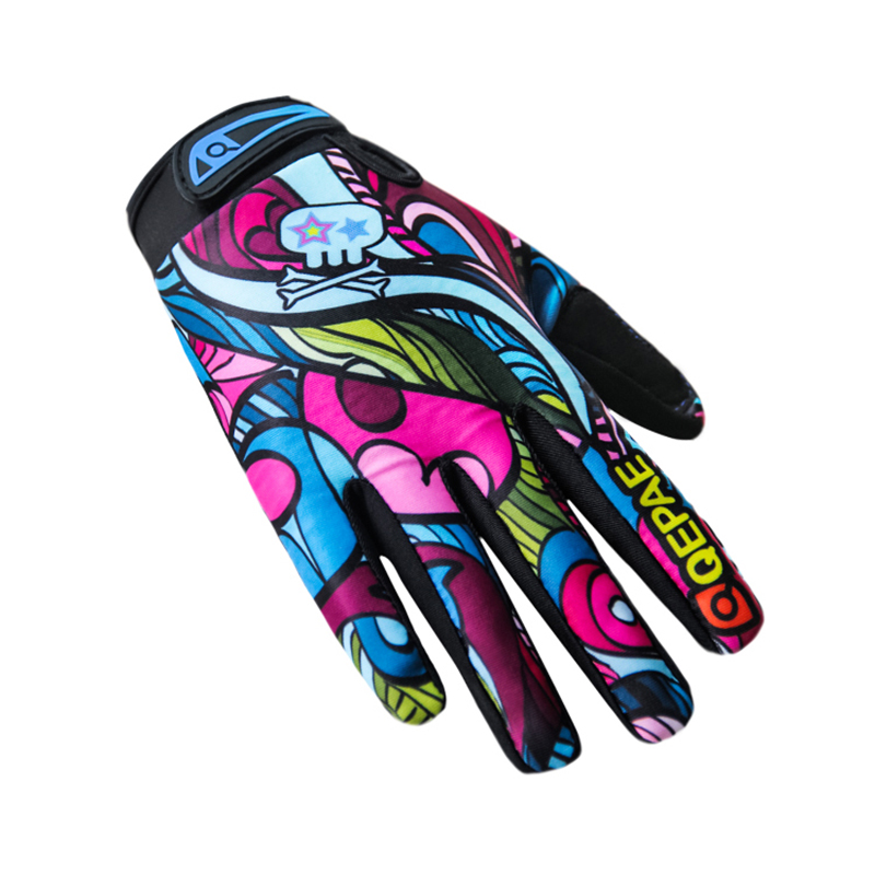 Qepae Unisex Men Women Winter Gloves Motorcycle Road Bike Cycling Bicycle Full Finger Ciclismo Outdoor Gloves Breathable Long qepae f7506 comfortable professional motorcycle bicycle full finger gloves red black pair xl