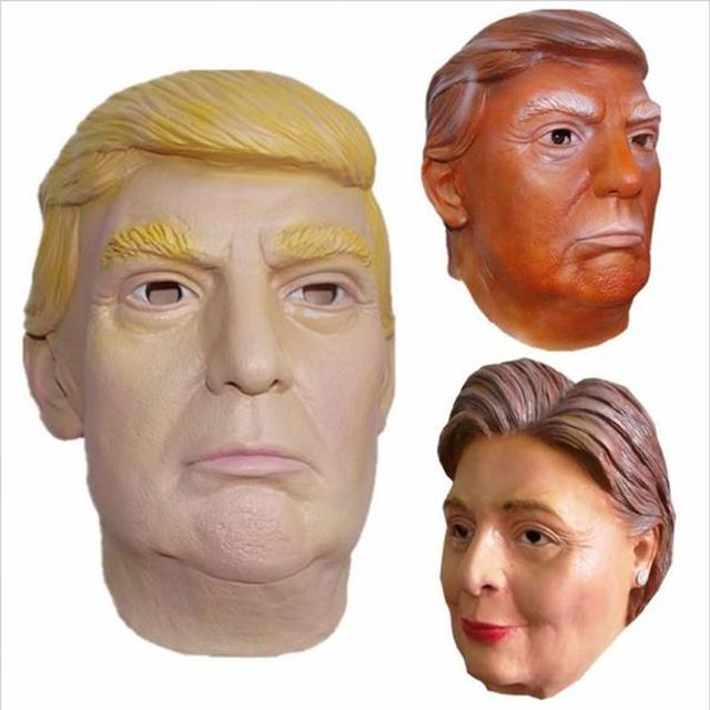 Donald Trump / Hillary Mask