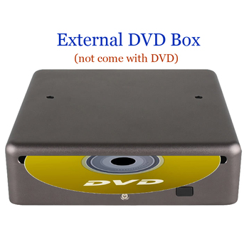 External DVD box dvd dvx player Support Playing DVD CD Only for our Car Radio Player