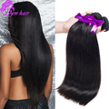 Top quality Brazilian Virgin Hair Straight 4 bundles virgin Brazilian straight hair extensions Brazilian straight hair weave