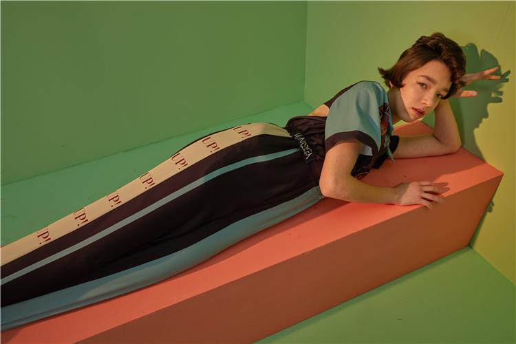 Human - Retro Rockabilly Jumpsuit Elastic Waist Vogue Hipster Rompers Short Sleeve