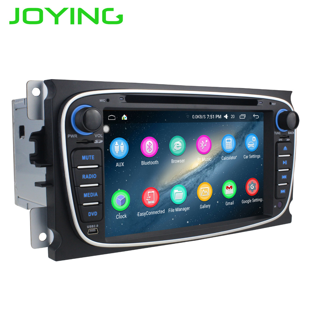 joying 2gb ram 2 din android 6 0 car stereo radio for ford. Black Bedroom Furniture Sets. Home Design Ideas