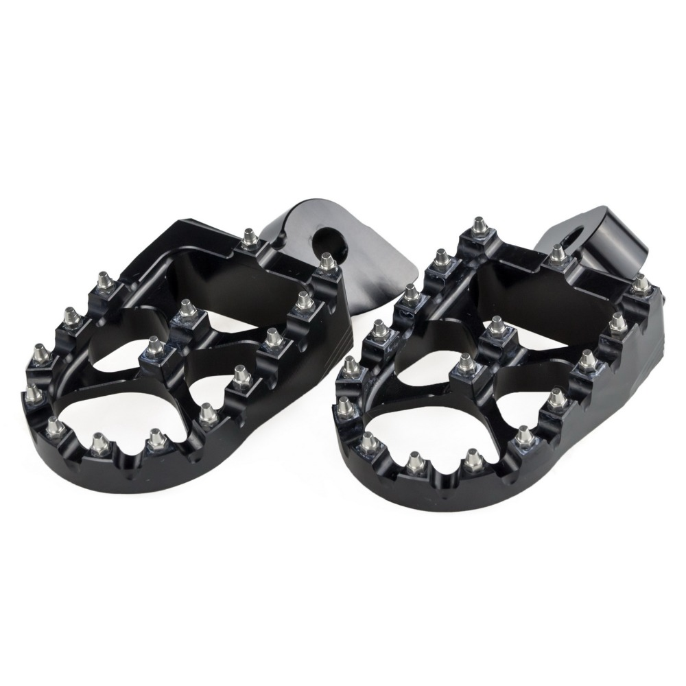 Motorcycle Footrest Foot Pegs Rests For Yamaha YZ 85 125 250 YZ125X YZ250X YZ250F YZ250FX YZ450F YZ450FX WR250F WR450F GasGas(China)