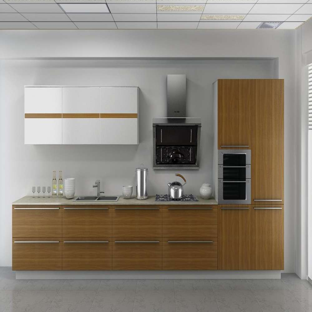 Elegant L Shaped Solid Wood Kitchen Cabinets Latest: Online Buy Wholesale Laminated Plywood From China