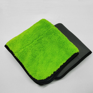 Image 1 - 1pc ręcznik z mikrofibry czyszczenie samochodu narzędzie myjnia samochodowa Detailing poliester pielęgnacja samochodu polerowanie ręcznik do suszenia 2019 nowy produkt