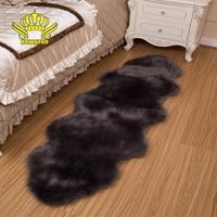 ROWNFUR Soft Artificial Sheepskin Carpet and rugs for home living kids room mats tapetes alfombras tapis salon skins carpet alfo
