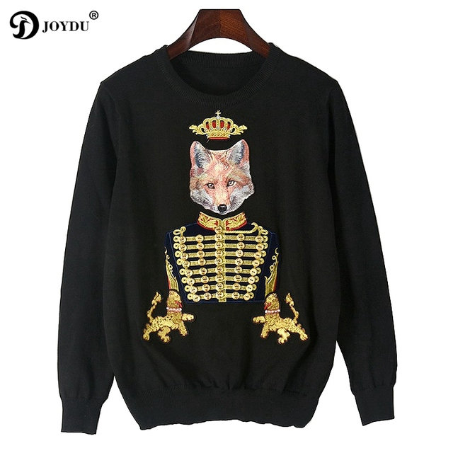 Aliexpress.com : Buy JOYDU Designer Pullover Sweater Women Fashion ...