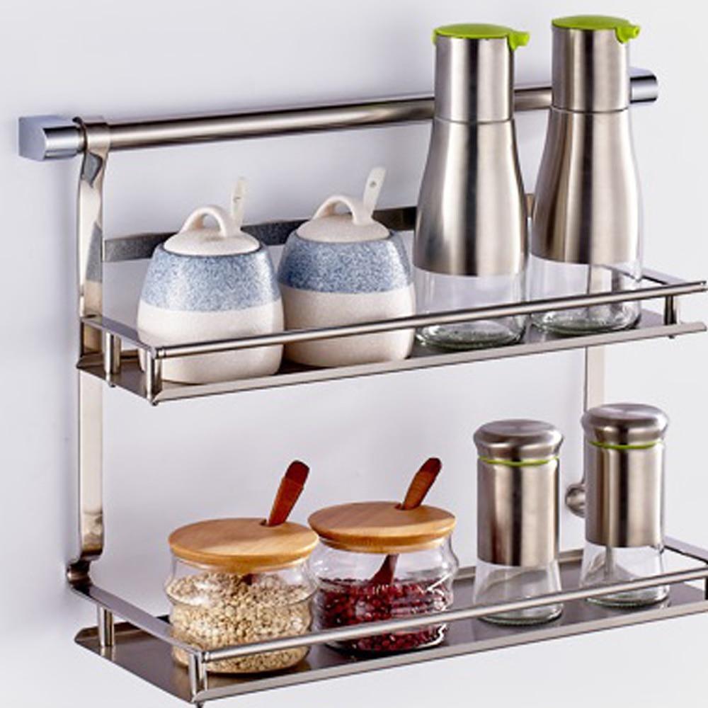 Cucine grigio e legno - Mensola acciaio bagno ...