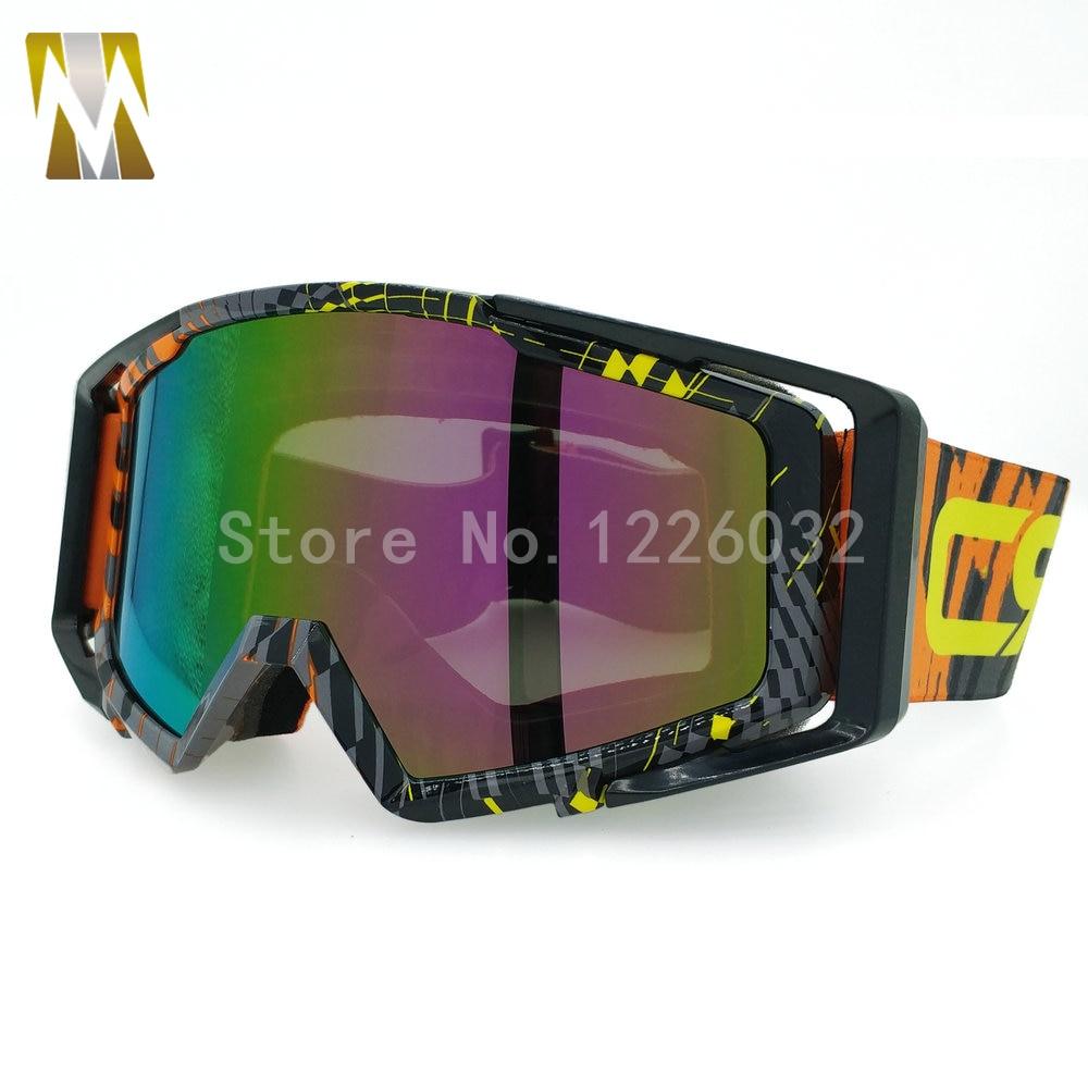 ახალი Motocross სათვალე UV400 - მოტოციკლეტის ნაწილები და აქსესუარები - ფოტო 3