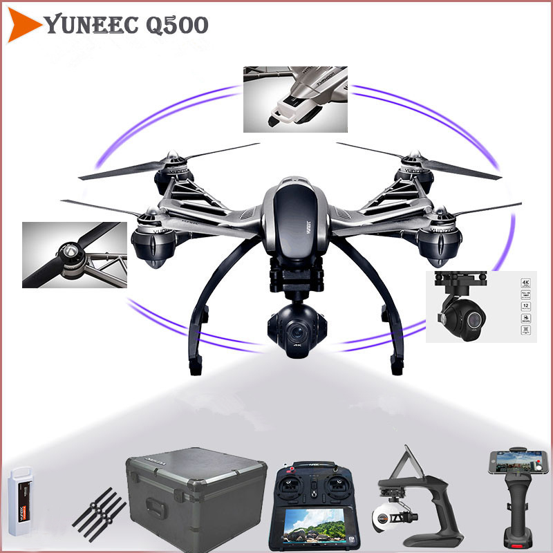Original Yuneec Q500 4K Typhoon Quadcopter FPV RC Drones With 4K Camera And CGO3 3 Axis Gimbal Vs DJI Phantom 4 Pro