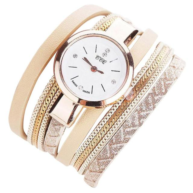 Women's Watches Leather Wrist Watch Women Watches Ladies Watch Clock Mujer Bayan
