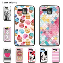 I am alone Phone Cases For Lenovo A8 A808T A806 5.0 inch Soft TPU Cute Patterned Bags For Lenovo A8 A808T A806 Free Shipping voongson 2 5d 9h screen protector for lenovo a806 a8 tempered glass for lenovo a 806 a808 a808t phone protective toughened glass