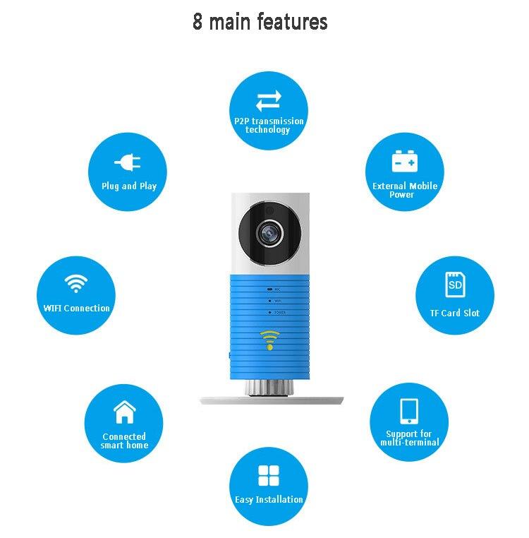 P2P Wireless IP Camera IR Night Vision Remote Control Baby Monitor