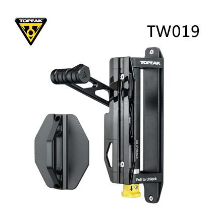 Topeak TW019 Swing-up DX Bicycle Hook Display Rack Road Bike Wall Mount Hanger Bike Storage Holder