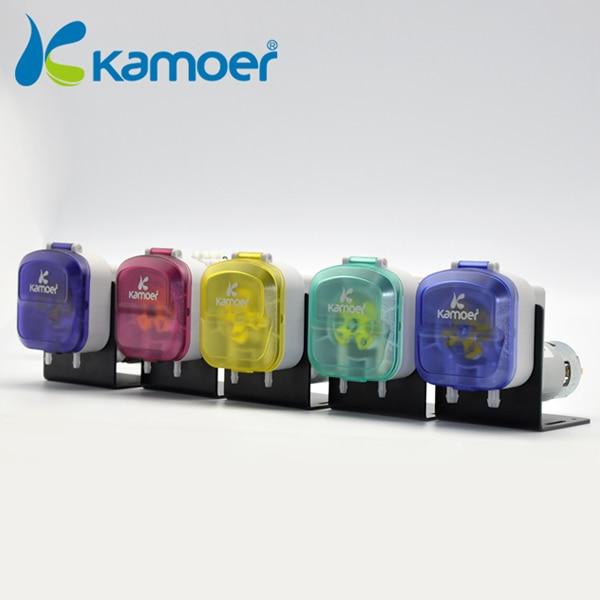 Mini Peristaltic Pump with high precision (L) kamoer Micro electric dosing pump 220V DC Water pump Kamoer KDS FA 8 l min electric diaphragm 12v dc mini air pump brush
